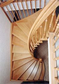 Gut gemocht Treppen aus Massivholz - gerade, geschwungen oder gewendelt von TM26